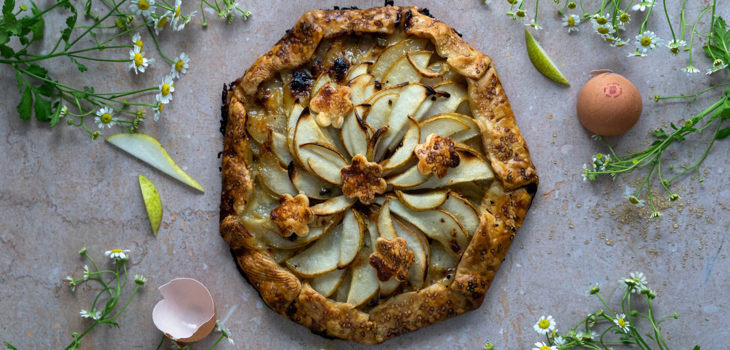 Pear and Blue Cheese Galette