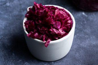 Garlic Apple Sauerkraut
