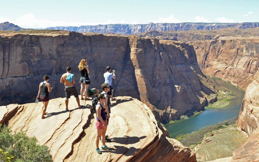 Orange Cliffs Canyon Glen Utah