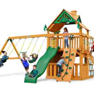 Gorilla Chateau Clubhouse Swing Set