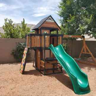 Backyard Discovery Canyon Creek Leisure Installs Play sets