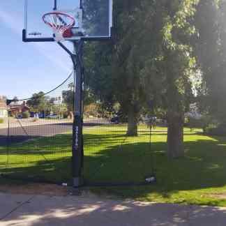 Leisure Installs Basketball goal install