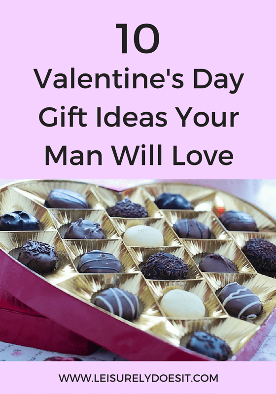 Here's a list of ten great Valentine's Day gift ideas that your man will actually love.
