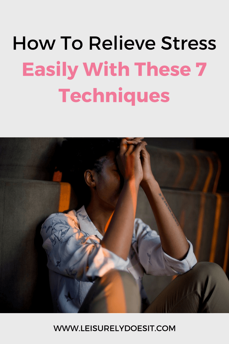 We all feel stress at some point but you don't need an expensive vacation to deal with it. I have seven simple ways you can relieve stress at home.