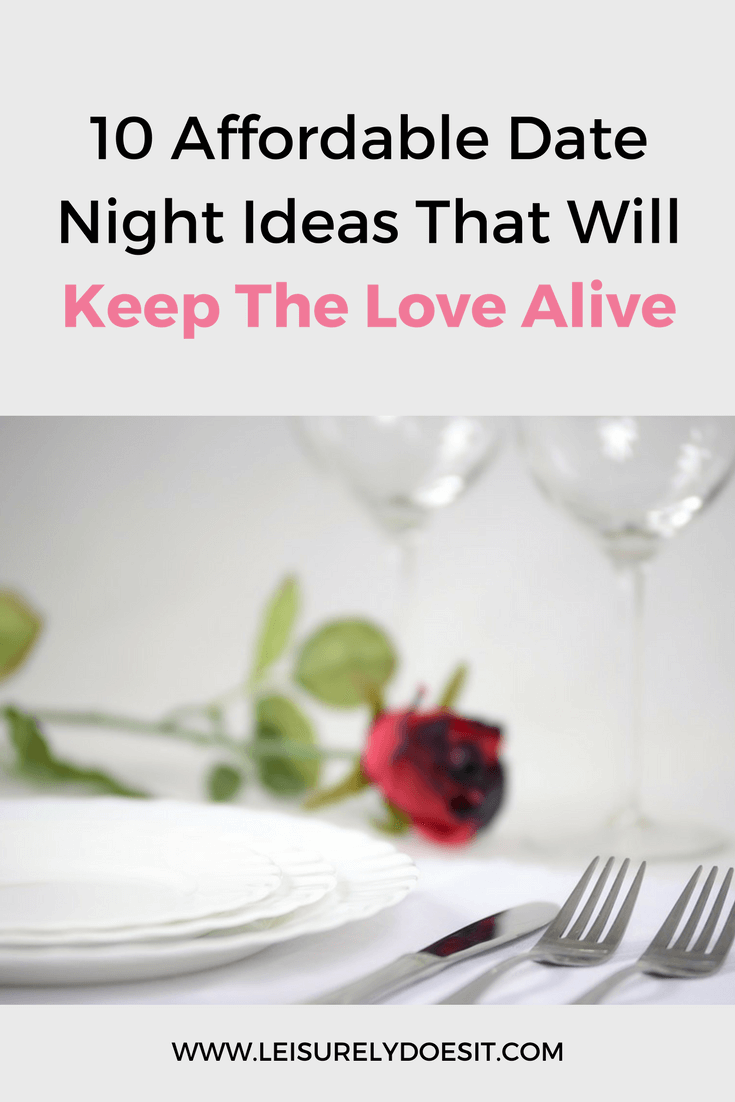 Spending quality time with your significant other is especially important if you struggle with money. Here are ten date night ideas for you to try!