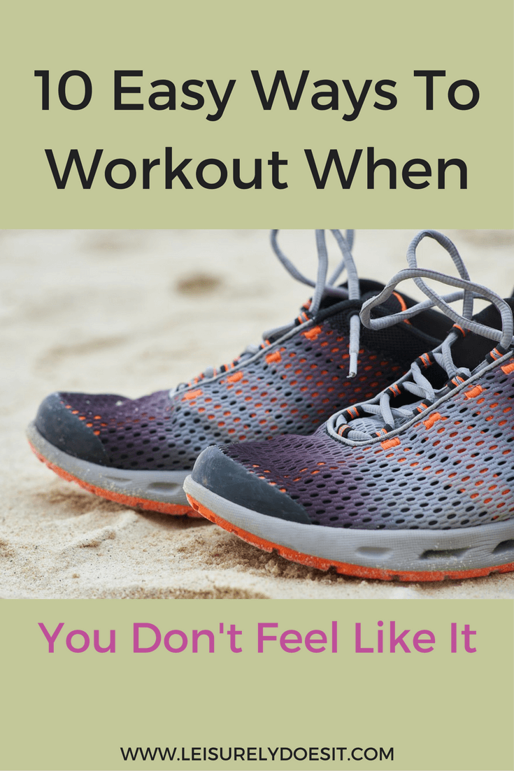 Do you struggle to find the motivation to workout? See ten ways you can motivate yourself to exercise when you don't feel like it.