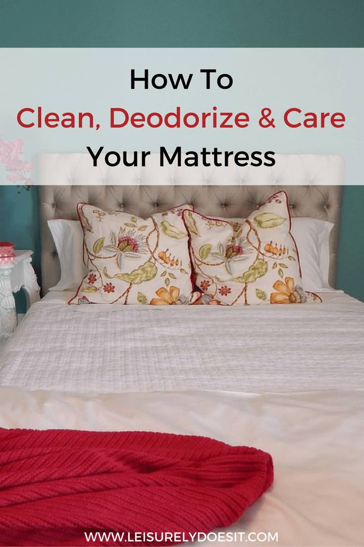 Your mattress can contain dirt, a build-up of body fluids and dust mites (Gross!). Follow this guide to clean and care for your mattress so you can rest easy.