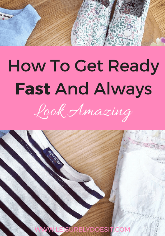 Tips for those who struggle to get ready fast in the morning.