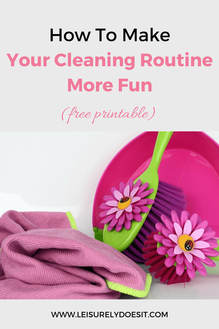 Cleaning doesn't have to be boring. I share ten ways you can spice up your routine and make cleaning an activity you look forward to every week.