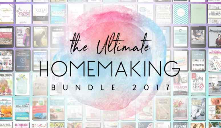 Don't Miss Out On The Ultimate Homemaking Bundle Sale!