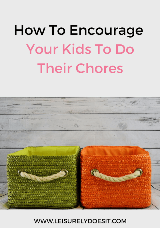 No-one wants to fight with their kids just to get them to do their chores. If this sounds familiar, follow these tips to encourage them to get them done.