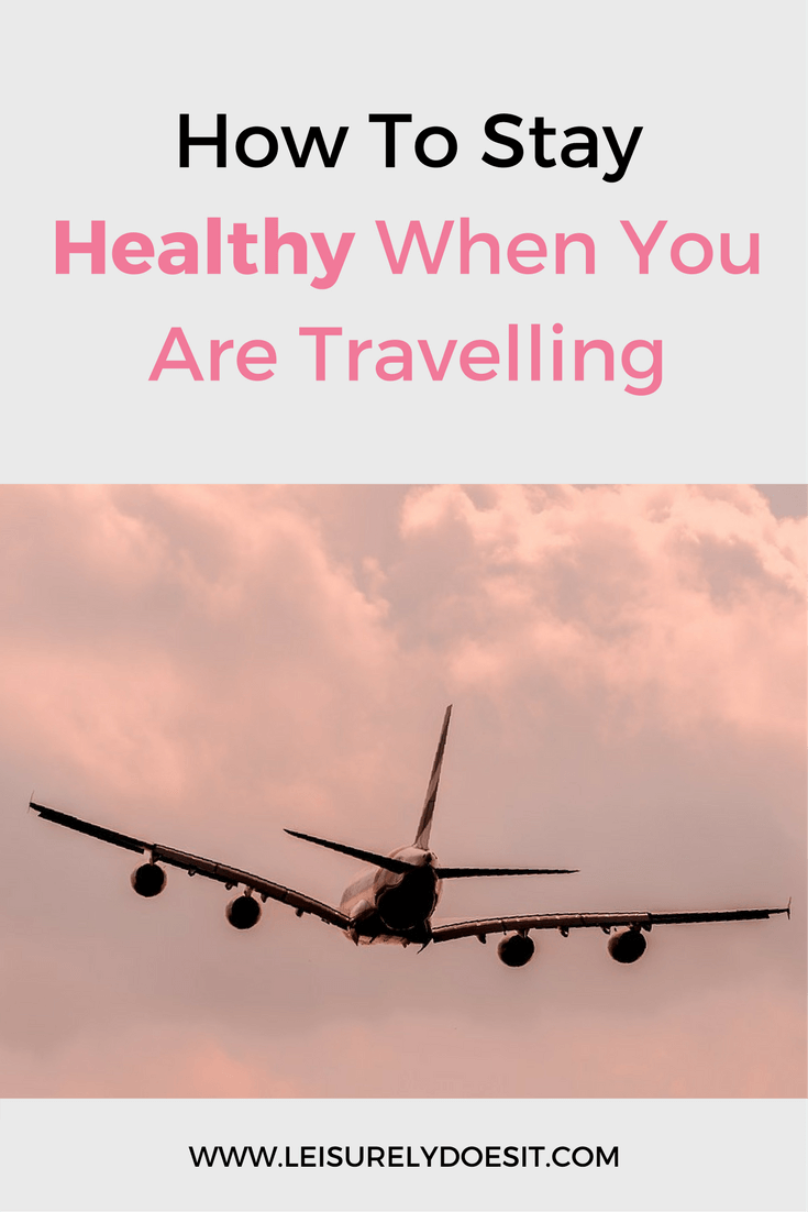 Who wants to get sick when they are travelling? Avoid spending your next trip in bed and stay healthy by following these simple tips.