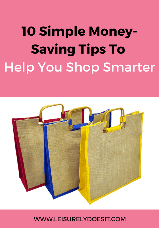 Shopping can be tricky when you are on a budget but it doesn't have to be. Just follow these ten tips to shop smarter and save!
