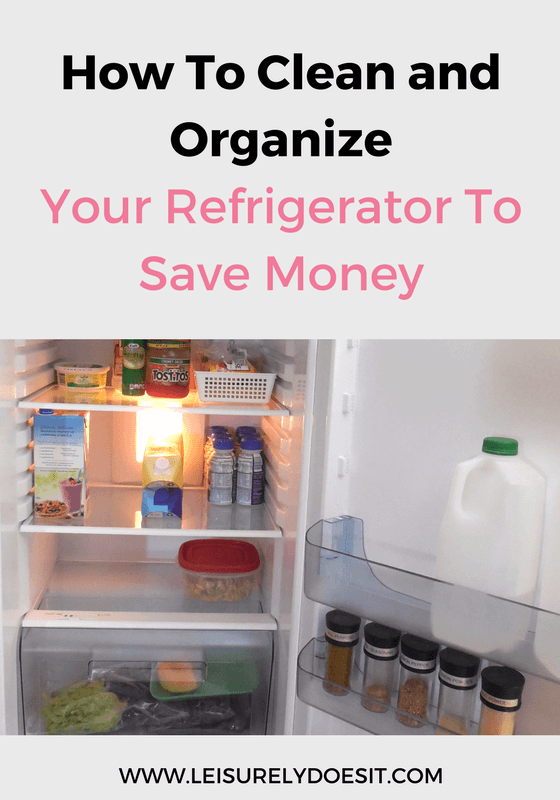 The refrigerator is the hardest working appliance in your home. Here's how to clean and organize the fridge so it saves you money.