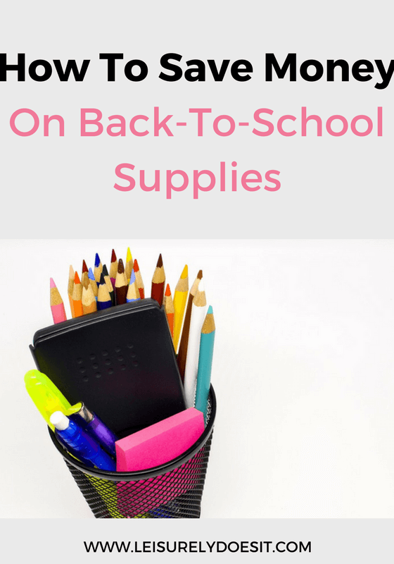 From books to clothing, here are easy ways to save money on all the back-to-school supplies your kids need for the coming year.