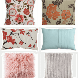 Budget-Friendly Home Decor- 12 Affordable Throw Pillows For Under $25