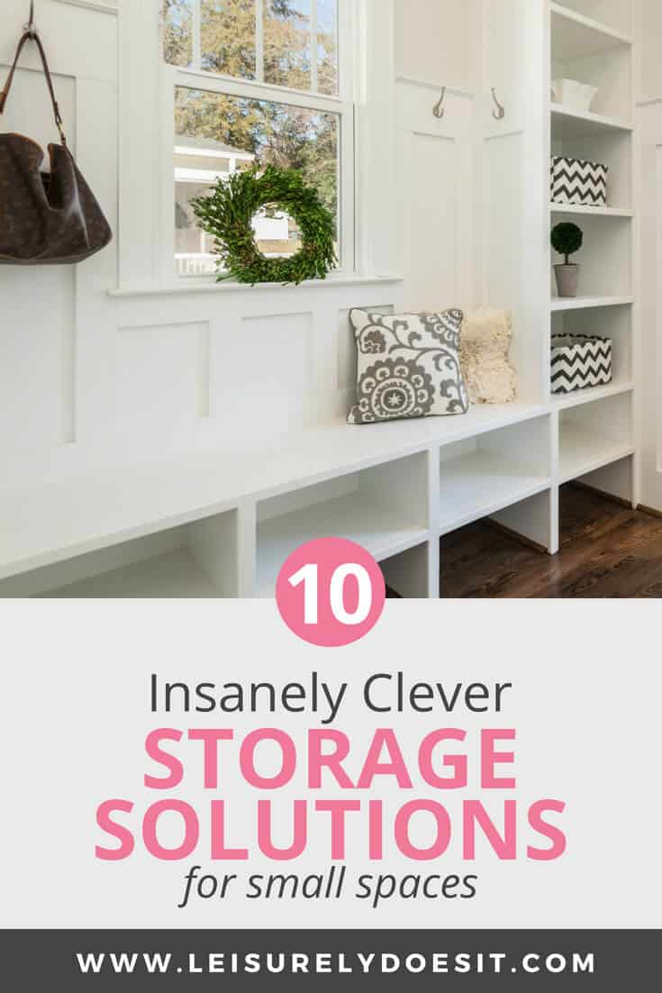 Entryway Storage   10 Insanely Clever Storage Solutions For Small Spaces
