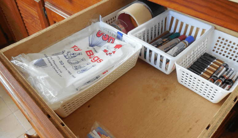 How To Organize Your Junk Drawer In 5 Easy Steps