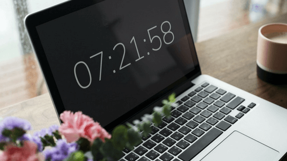 Laptop and Flowers— Dirty things in your house to clean