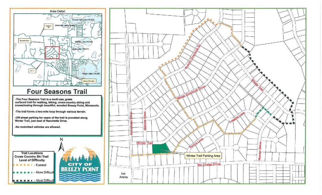 Four Seasons Trail Map
