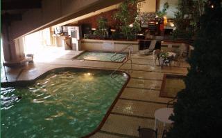 Breezy Center Pool Area