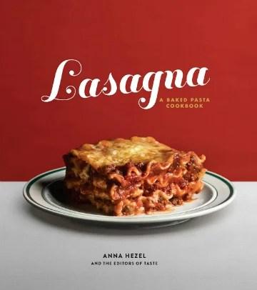 Buy the Lasagna cookbook