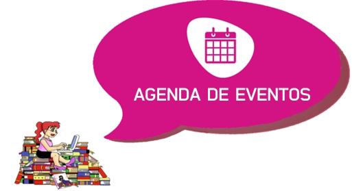 agenda de eventos leitora compulsiva