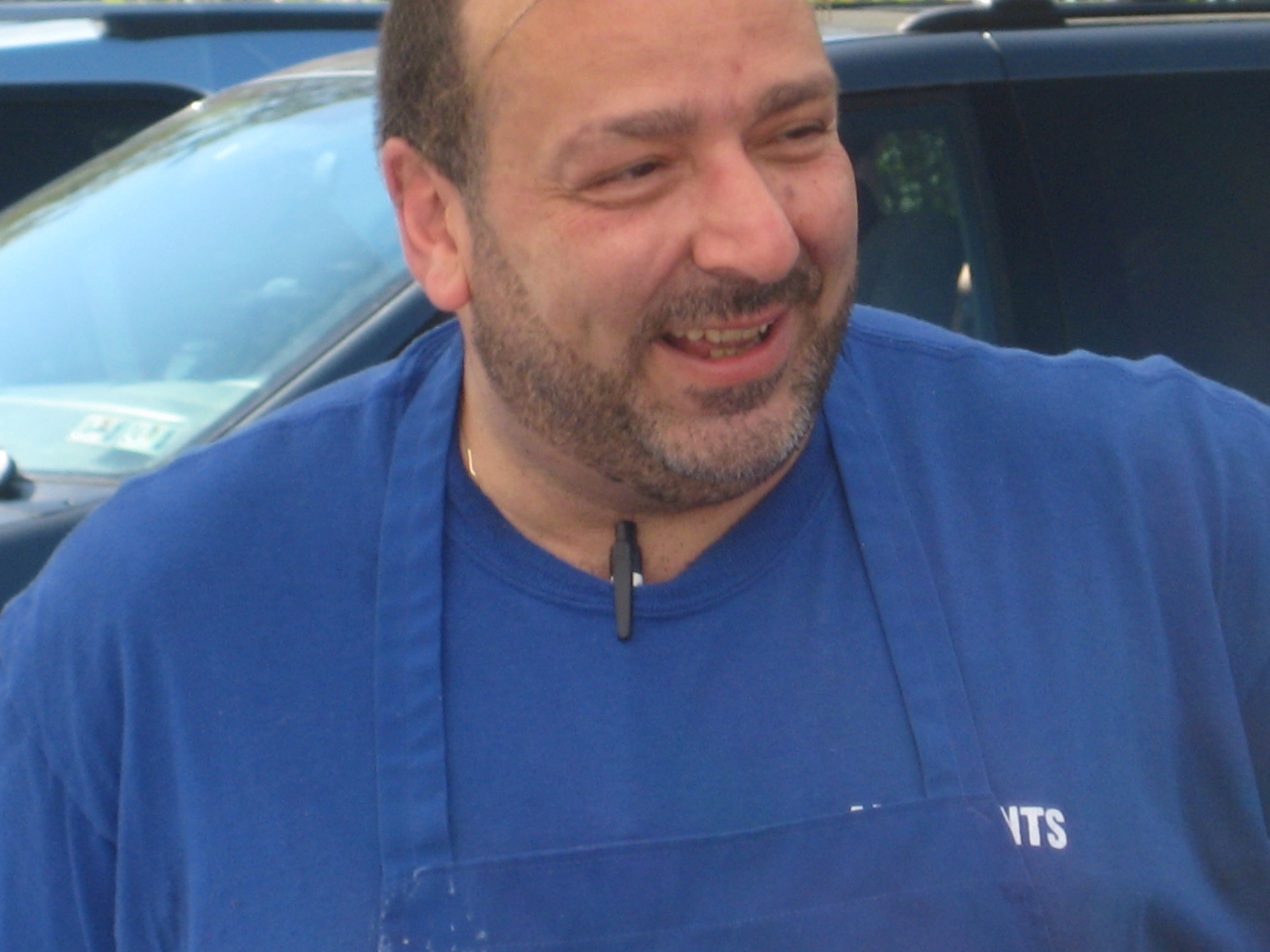 Johnny Ioannides, the man who brings us the best gyros in Bloomington. Can we open this man a restaurant, please?
