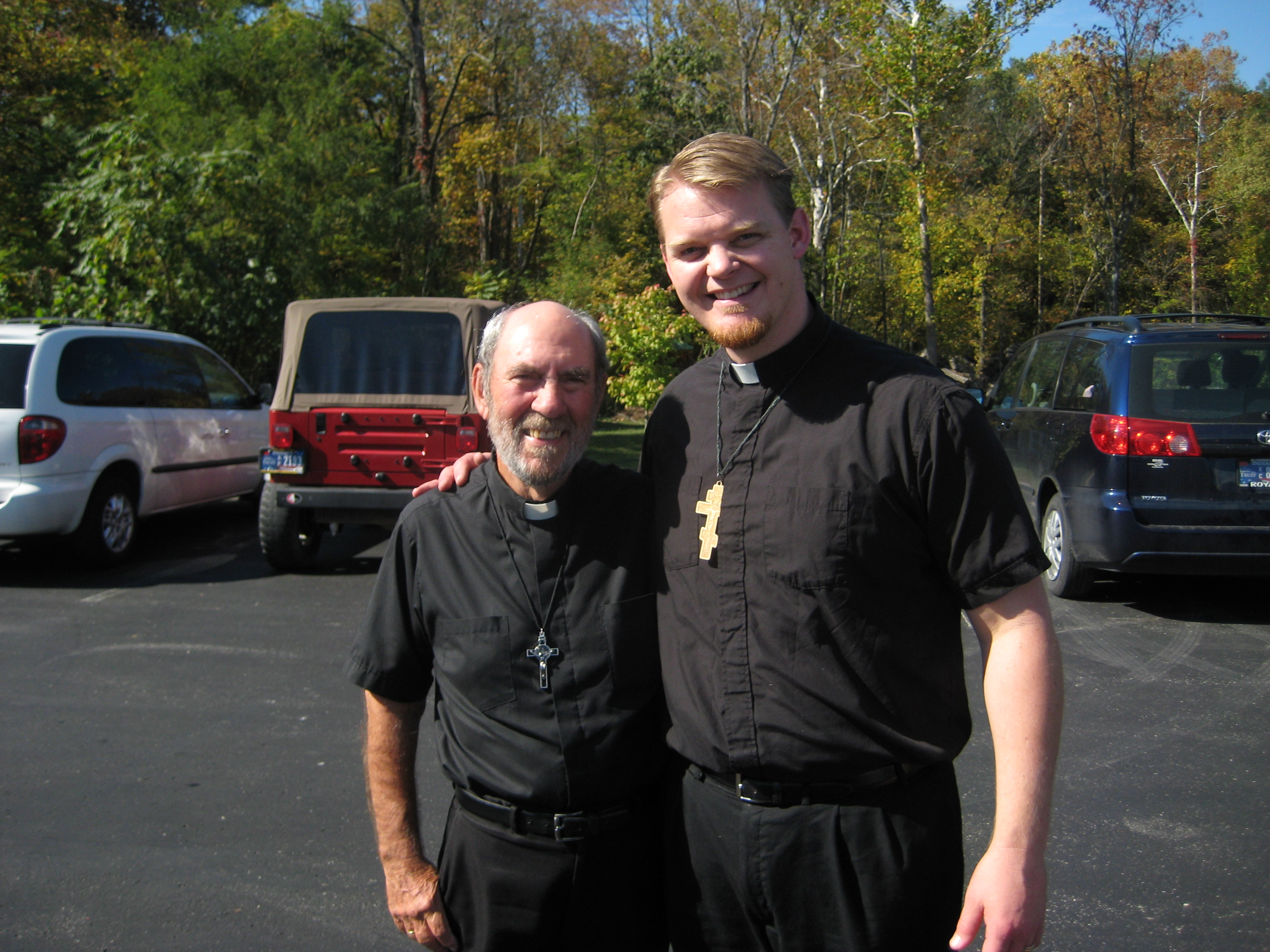 Fr. Athanasius Wilson and Fr. Peter Jon Gillquist