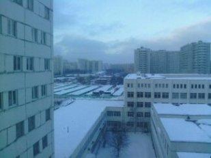 Vue de ma chambre, étage 8, dortoir de Pouchkine, orientation inconnue.
