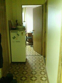 Notre merveilleux réfrigérateur (pour 5 personnes), qui n'avait sans doute jamais été nettoyé avant le passage de Marlène et moi.
