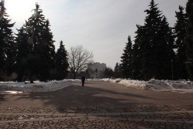 En face de l'Université MGU
