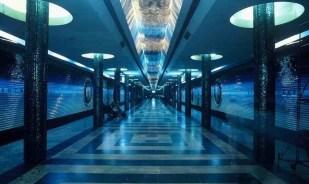 Station de métro de Tachkent http://steppemagazine.com/articles/notes-from-underground-the-tashkent-metro/