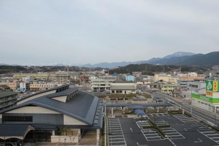 Ena - vue de l'hôtel