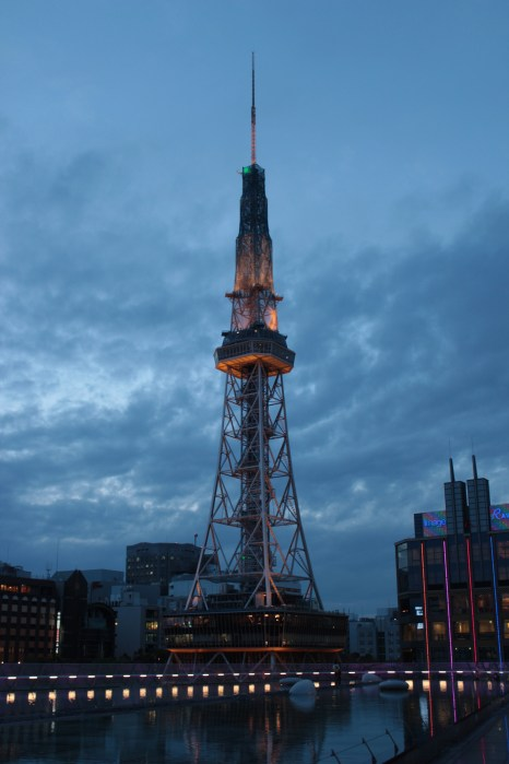 Nagoya TV Tower - vue depuis le Space Ship Aqua (Oasis 21)