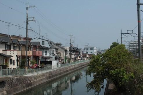 Autour de la gare Fushimi Inari