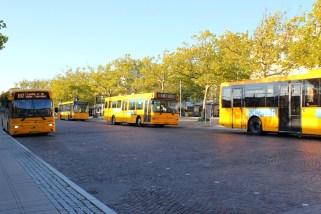 Terminal de bus (pour aller sur le campus)