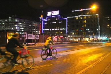 Centre ville de nuit