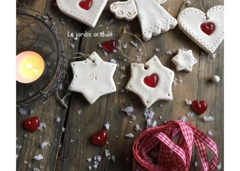 décoration pâte à sel