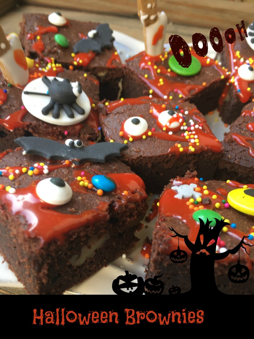 Halloween Brownies 3