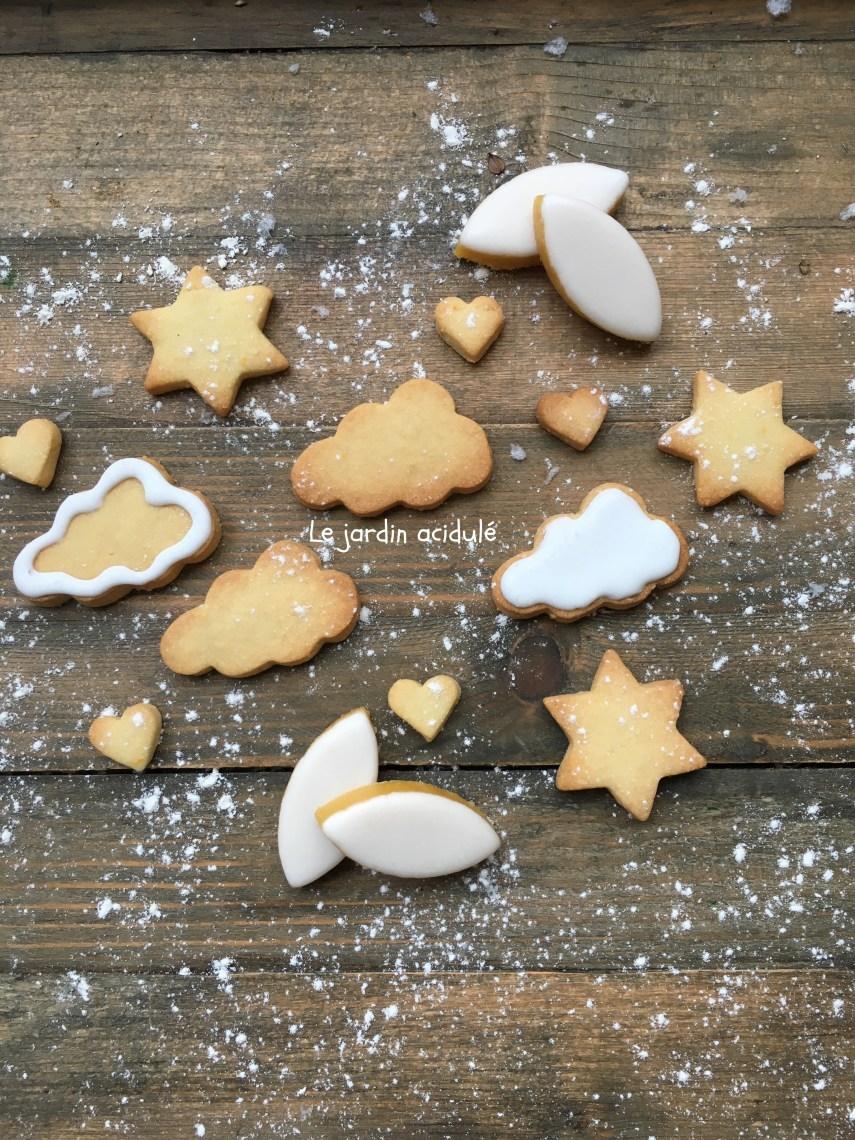 Biscuits de Noël, Nuages