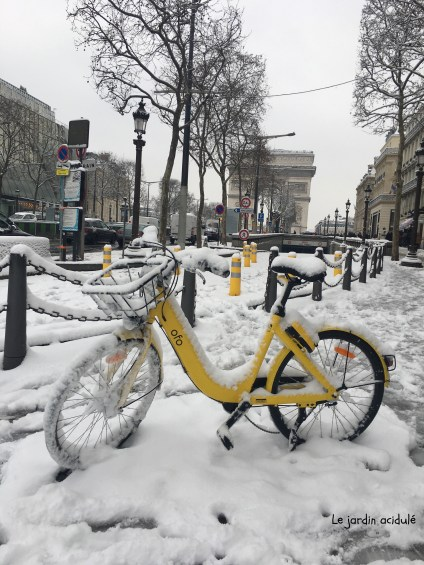 Paris neige 3