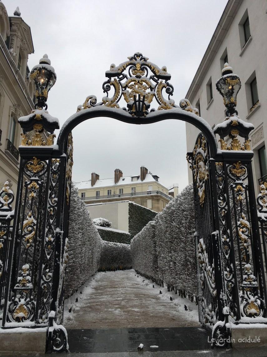 Paris neige 6