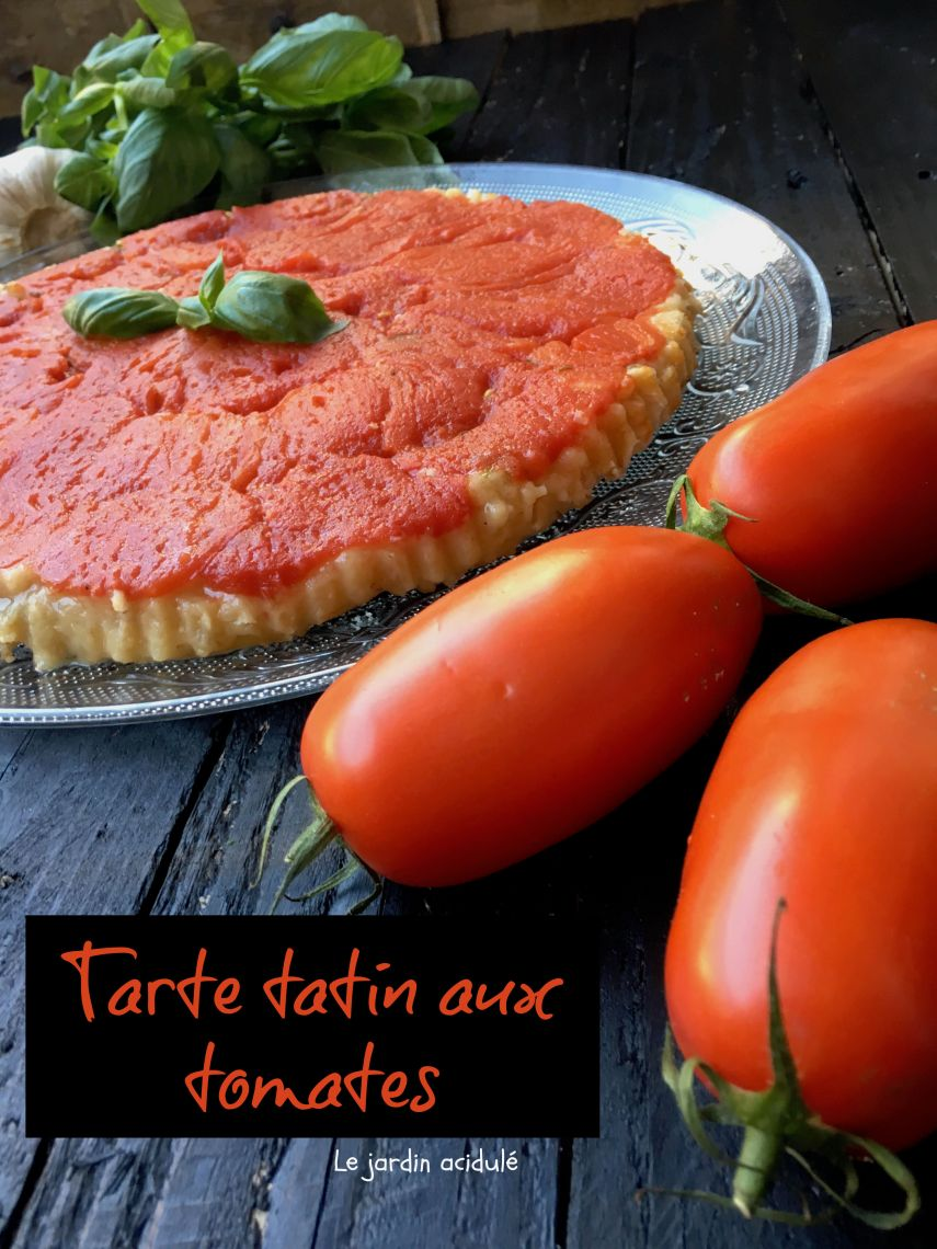 Tarte tatin à la tomate 9