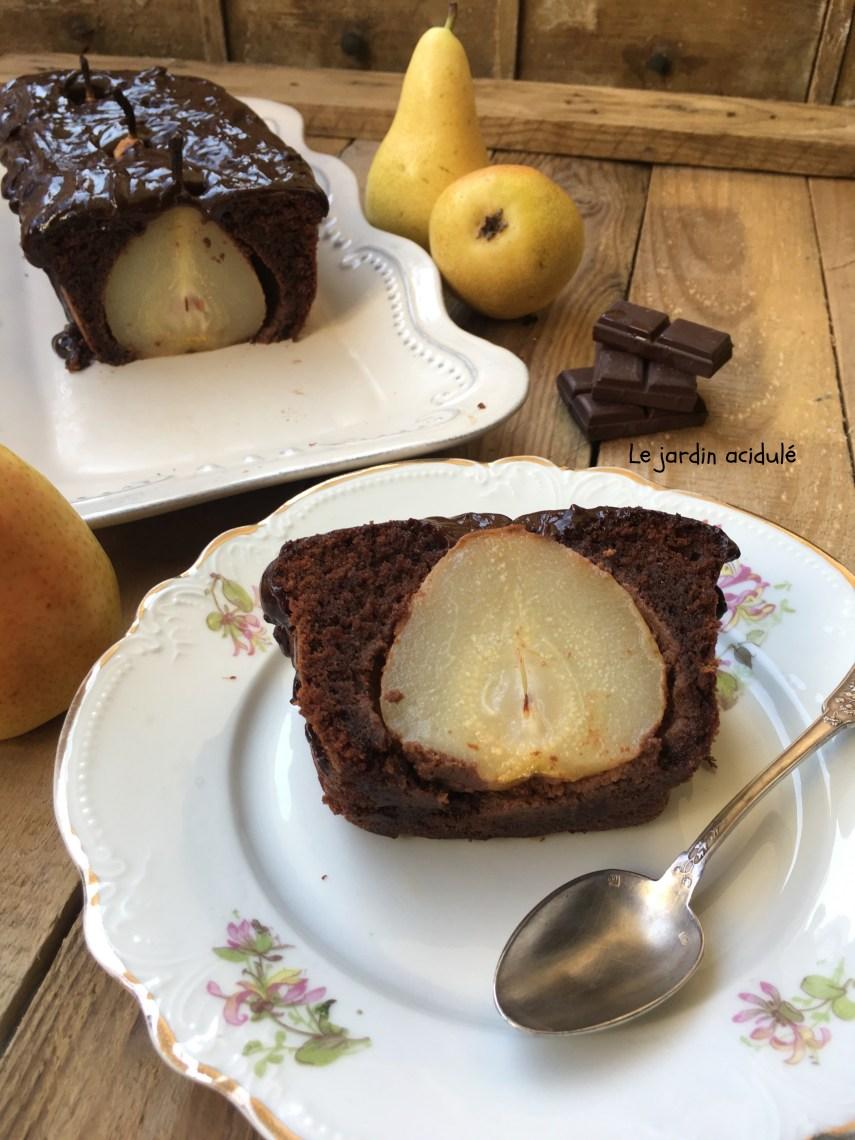 gâteau poires chocolat 19