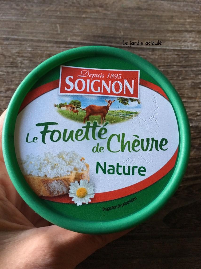 Fouetté de chèvre Soignon