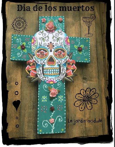 Croix dia de los muertos