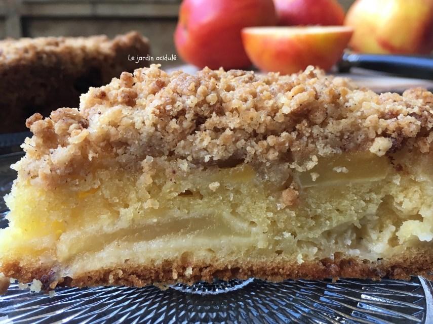 Gâteau aux pommes Streusel