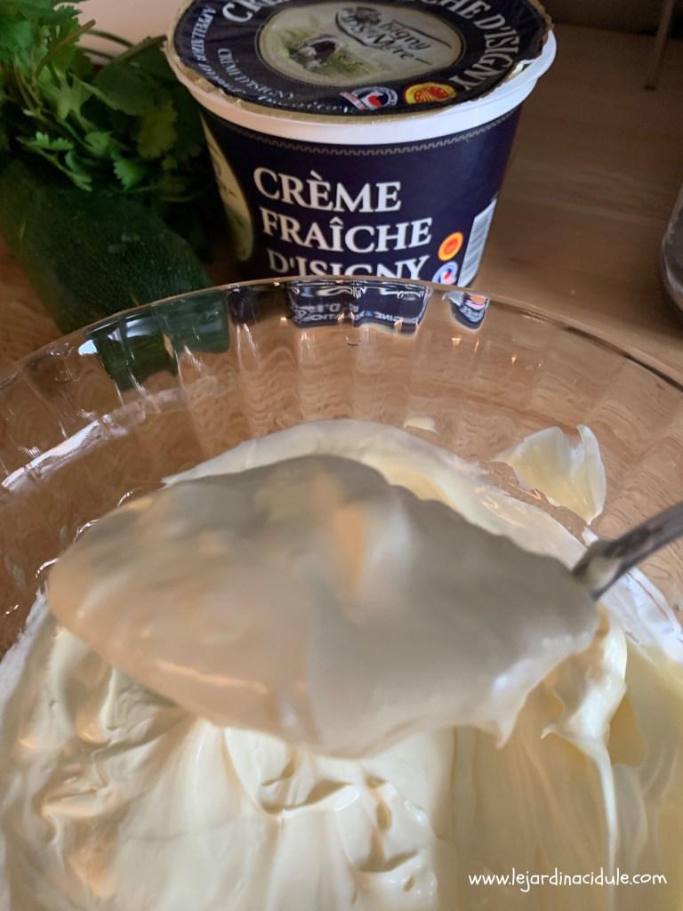 Crème fraiche d'Isigny