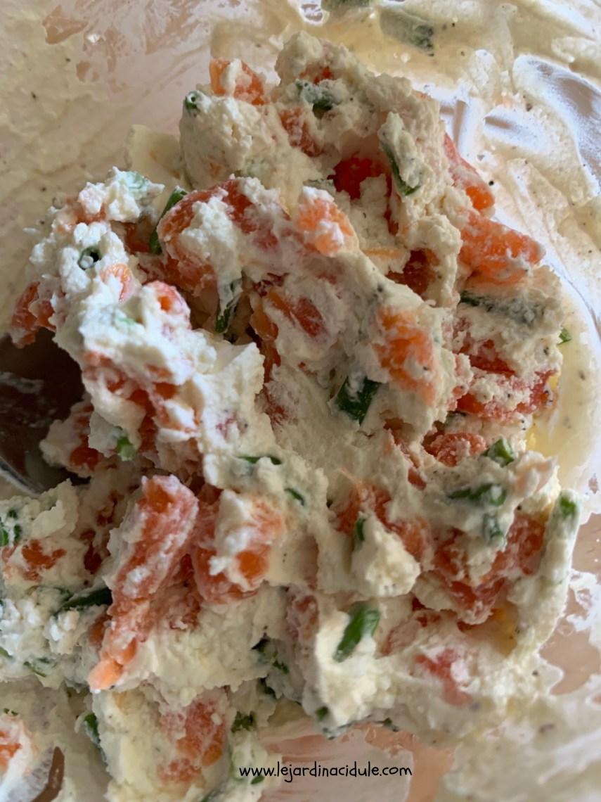 sandwich saumon concombre